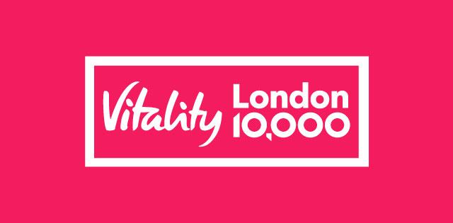 Vitality London 10,000 logo