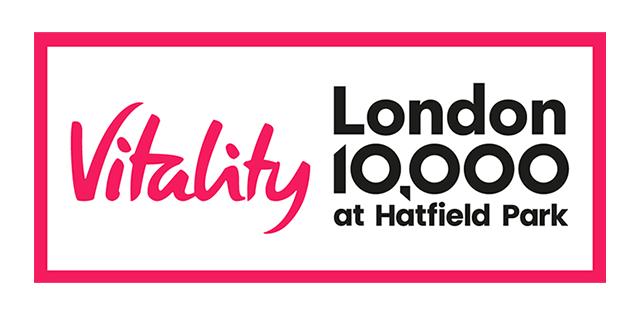 Vitality London 10,000 at Hatfield Park logo