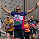 Runners in the Vitality London 10,000