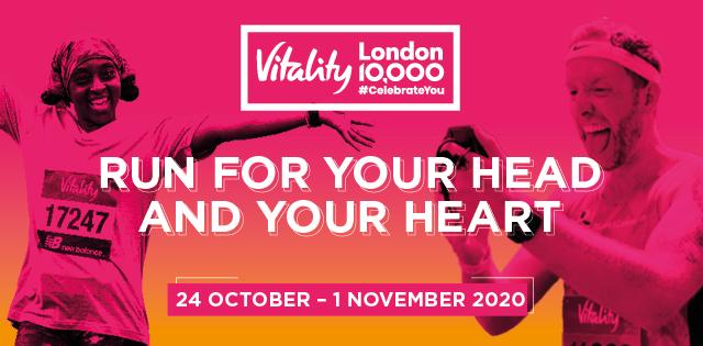 Take part in the virtual Vitality London 10,000