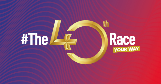 The 40th Race – Your Way